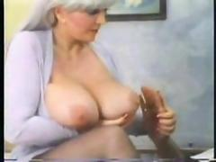 Mature vintage huge boobs hard