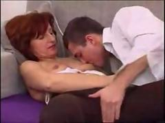 Very attractive mature woman takes it deep in her ass video