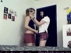 18yo Highschool Teens Stripping and Playing compilation 168