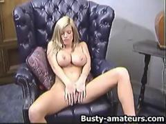 Tera jerking her shave pussy