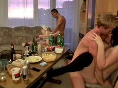 College orgy with lots of booze film 2