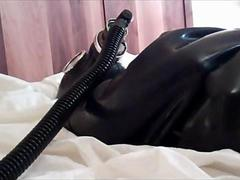 Kami Experiences the Rubber Straitjacket and Bubbler Bottle