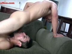 Latin men sucking each others big uncut vergas and then fucking each others tight culos