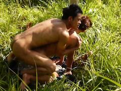 The Asian Bareback Doggie Style