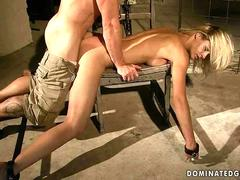 Hot slavegirl getting punished and fucked feature