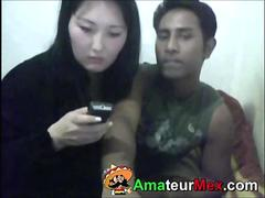 Mexican Guy and Korean Wife