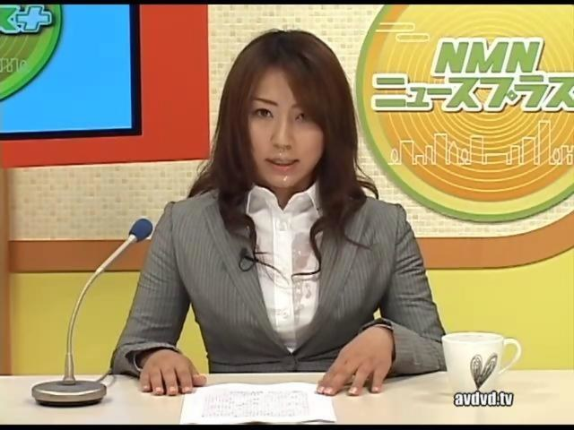Japanese tv news porn