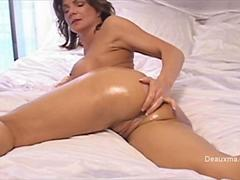 Deauxma sexy ass shower and finering