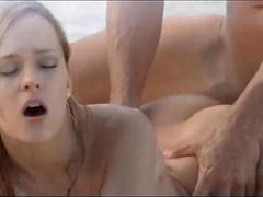 Exquisite sex on the beach in art movie film 3