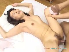 Milf getting her hairy pussy fucked by a young guy  movie