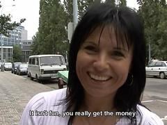 Czech street girls fuck for some money