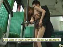 Rio asian model is fucked on the bus segment 3