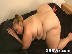 Crazy BBW Chick Drilled Alluring Perky