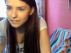 Very cute amateur teen webcam girl