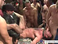Billy Santoro gets pounded by horny dudes
