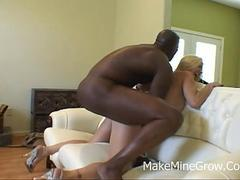 Big round latin ass nailed by black rod film 2