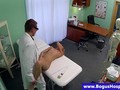 Fake doctor ravaging patients pussy