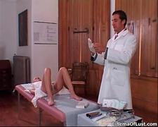 Doctor knows how to make her cum hard