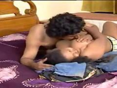 Beautiful Indian milf fucks her hairy neighbor