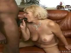 Naughty old bitch gets fucked rough segment