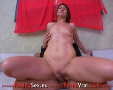 Mature amateur French compulsive orgasms!!!