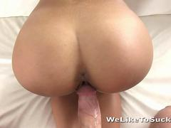 Blonde gets pussy filled