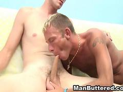 Wild Buttered Gay Fucking