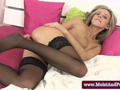 Big taco masturbation girl in stockings