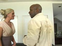 Muscle black stallion anal sex with famous MILF pornstar Phoenix Marie