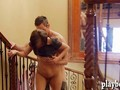 Two couple swingers had fun in jacuzzi and enjoyed everyone
