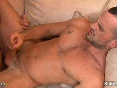 Married guy gets ass licked by a gay