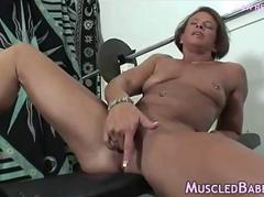 Muscled Milf Sport Naked