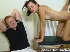 Make Him Cuckold - Busted and made a cuckold