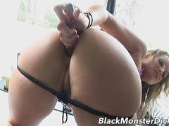 MILF Flower Tucci Anal Fucked by Black Cock