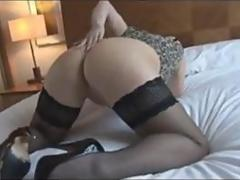 Find her on MATURE-FUCKS.COM - Mature Redhead in a tight dress plays