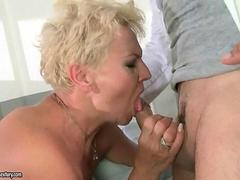 Granny having sex with her doctor
