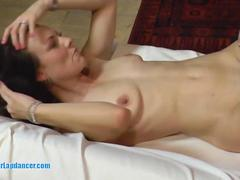 Wild fuck with gorgeous czech brunette