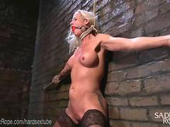 Blonde MILF Punished By Sadist