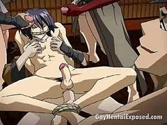 attractive brunette hentai gay