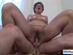 screaming granny anal