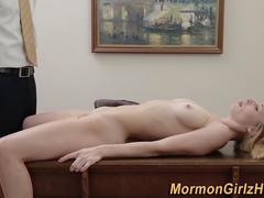 Fingered mormon watched