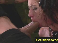 FetishNetwork Esmi Lee rough deepthroat