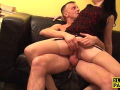 British spex sub cockriding before cumshot