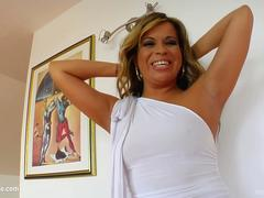 MILF mature hottie Afrodite fucked hard in gonzo style at MILF Thing
