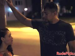 Roughfucked stranded teen pounded doggystyle