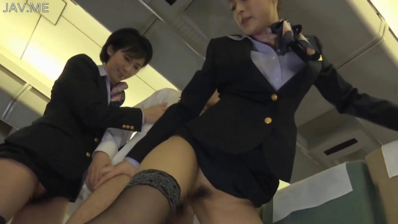 Air hostess fucked before her flight 7