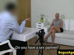 Casted euro amateur fucked on casting couch