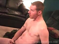 Mature Amateur Clint Jacking Off