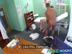 Fake Hospital Doctor finds sexual surprise in patients wet pussy
