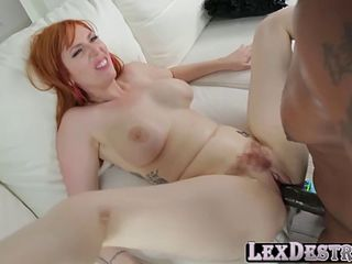 gorgeous redhead lauren phillips gets fucked by lexington steele